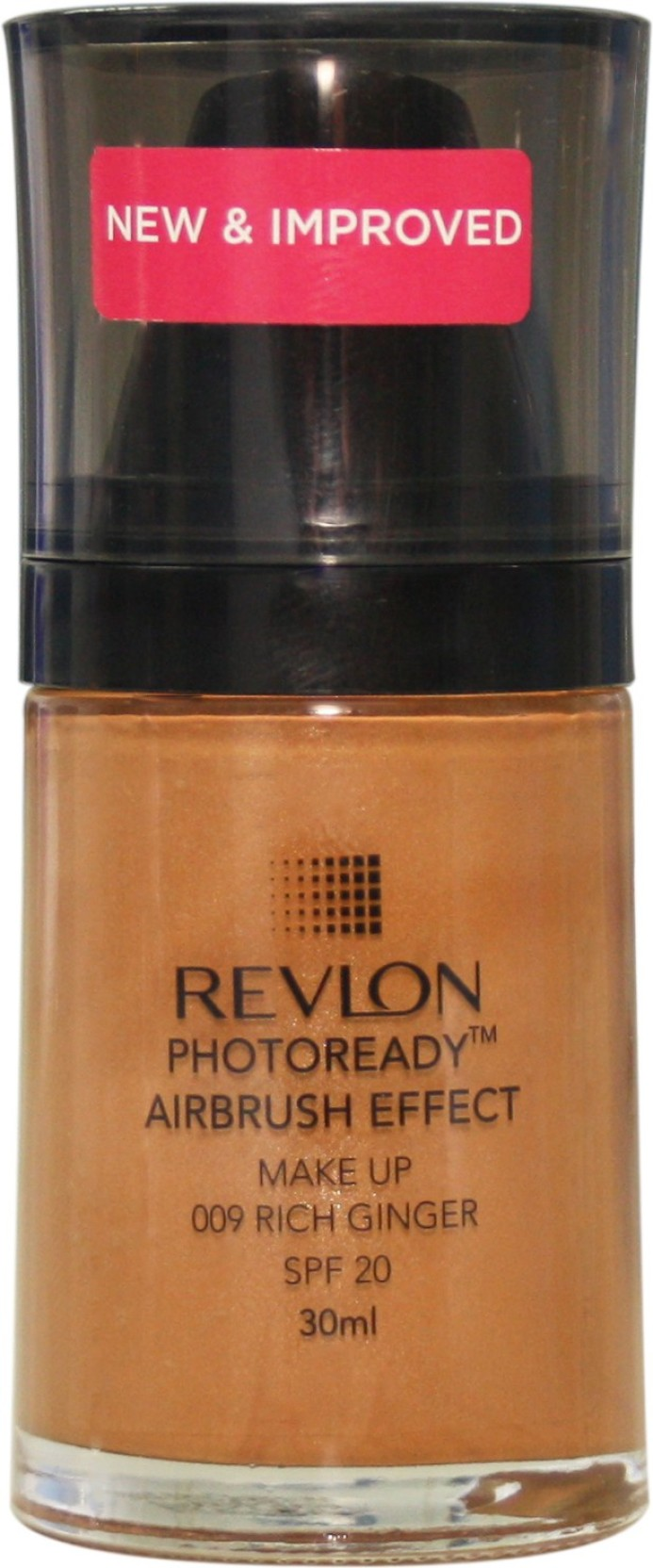 Revlon Photo Ready Air Brush Effect Make Up Spf 20 Rich Ginger Photoready Airbrush Makeup Nude Foundation Home