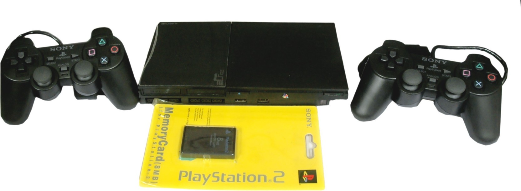 Sony playstation 2 ps2 price in india buy sony playstation 2 ps2 black online sony - Playstation 2 console price ...