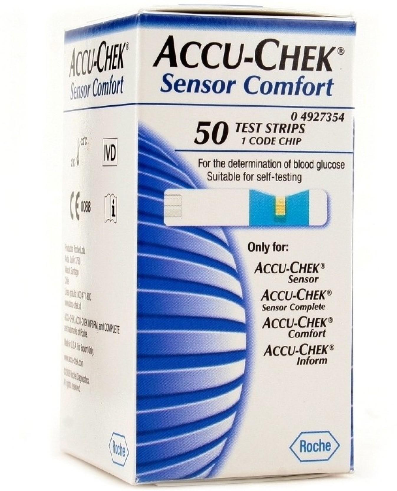Accu Check 50 Glucometer Strips Price In India Buy Accu