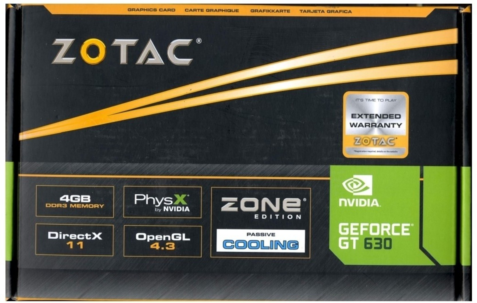 Zotac geforce gt-630 2gb ddr3 zone edition unboxing youtube.