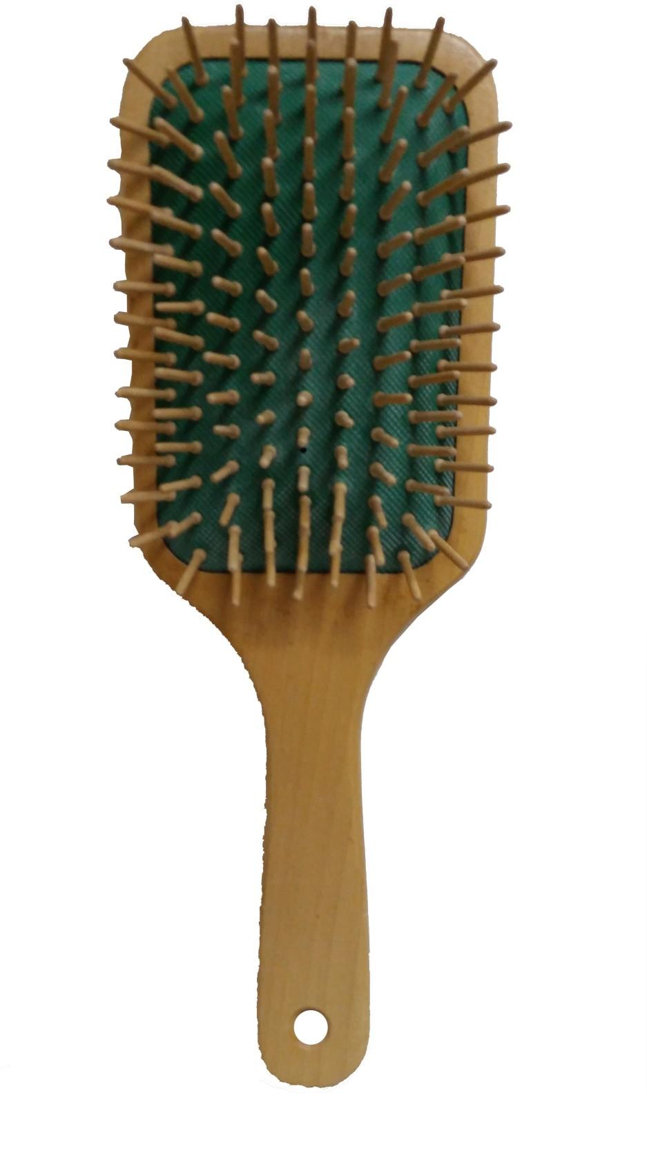 Toni&Guy Wooden-Hair-Paddal-Brushes-With-Wood-Bristles