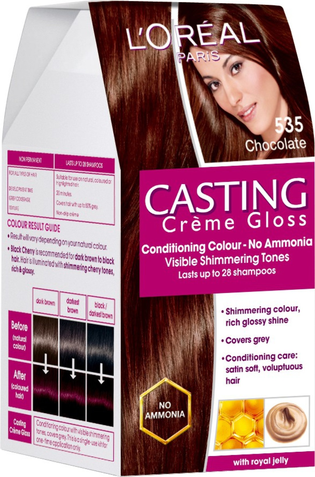L Oreal Paris Casting Creme Gloss Hair Color Price In