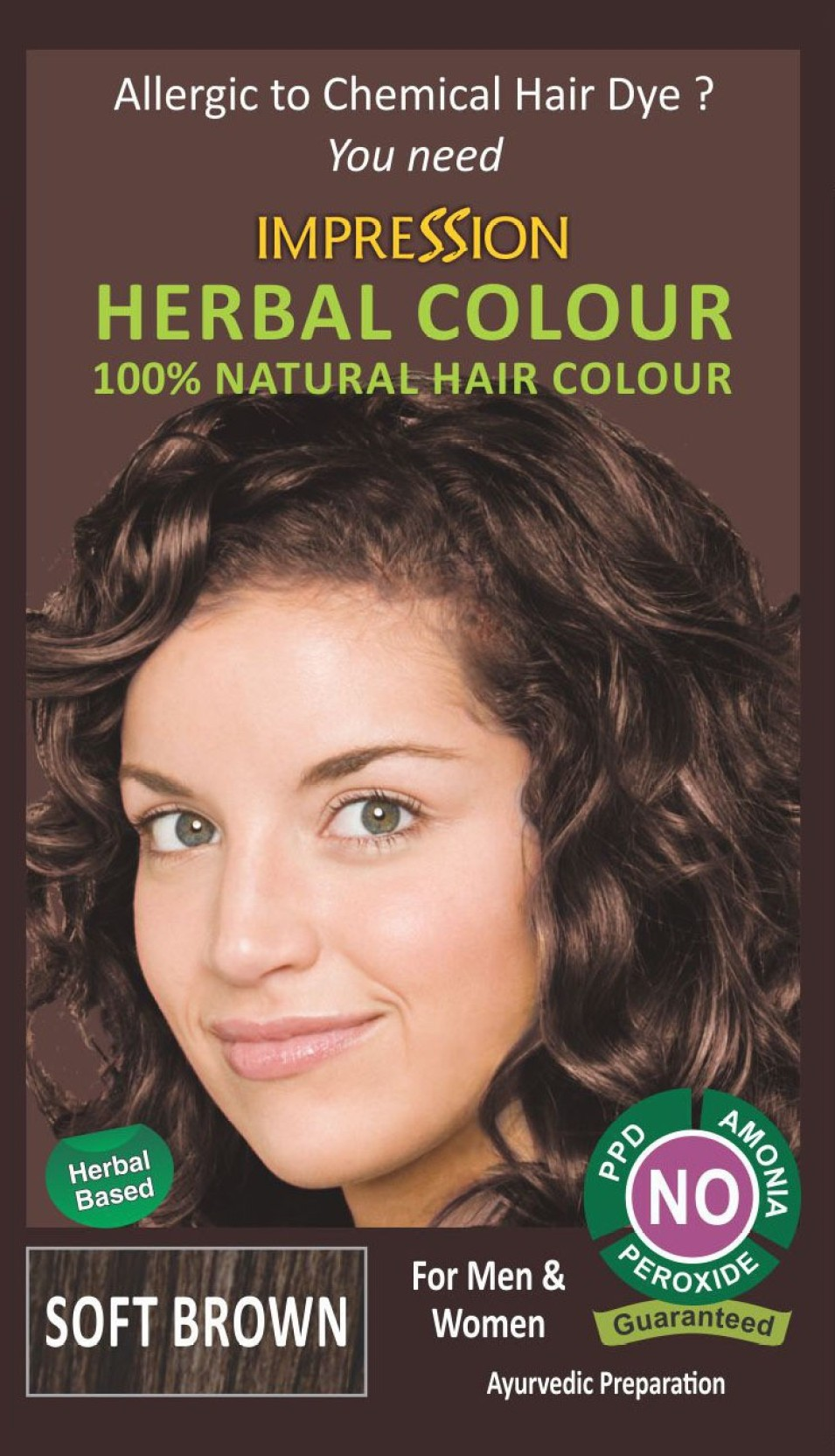 Impression 100 Chemical Free Natural Hair Color Price In India