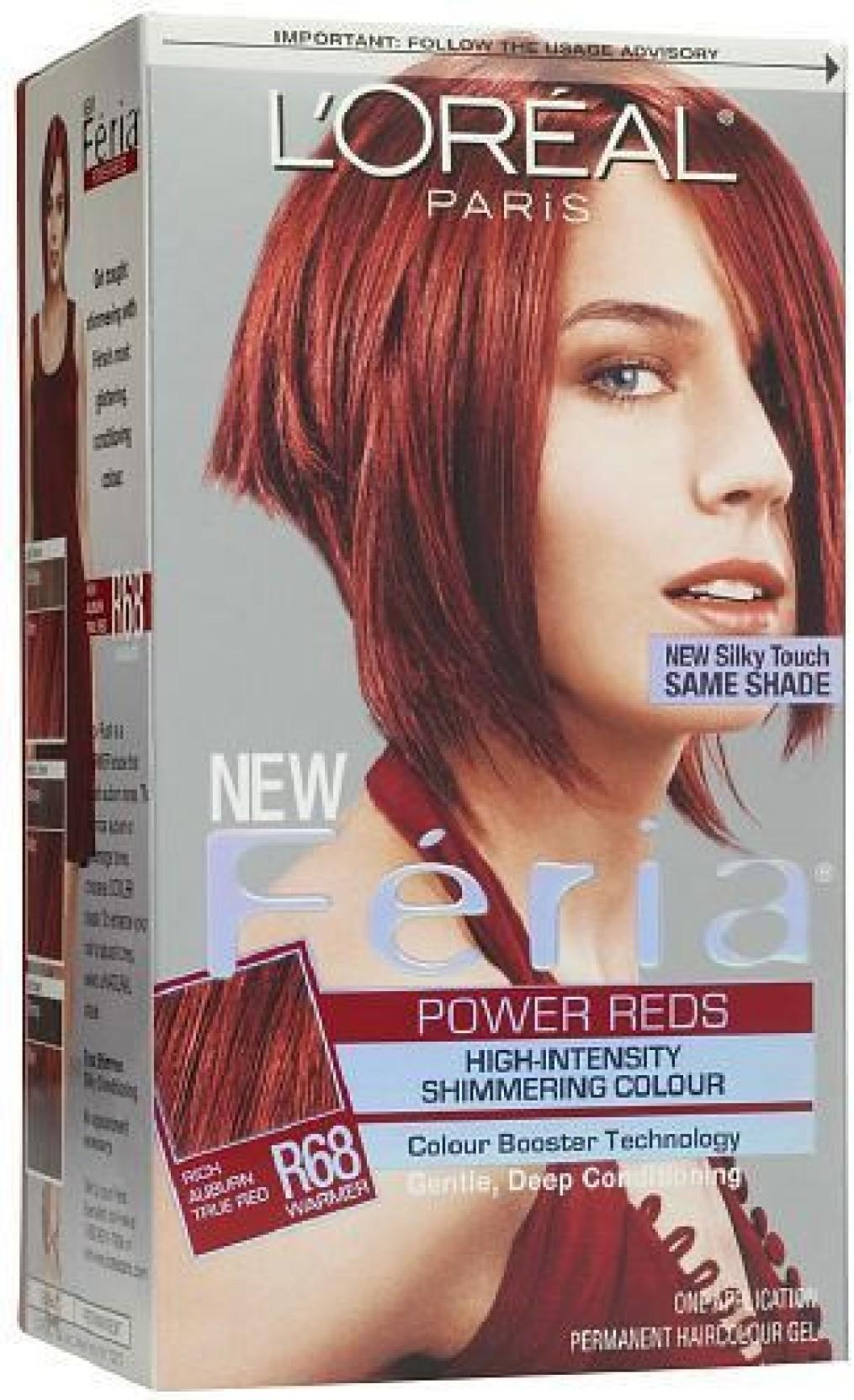 Loreal Paris Paris Feria Power Reds Hair Color Price In India