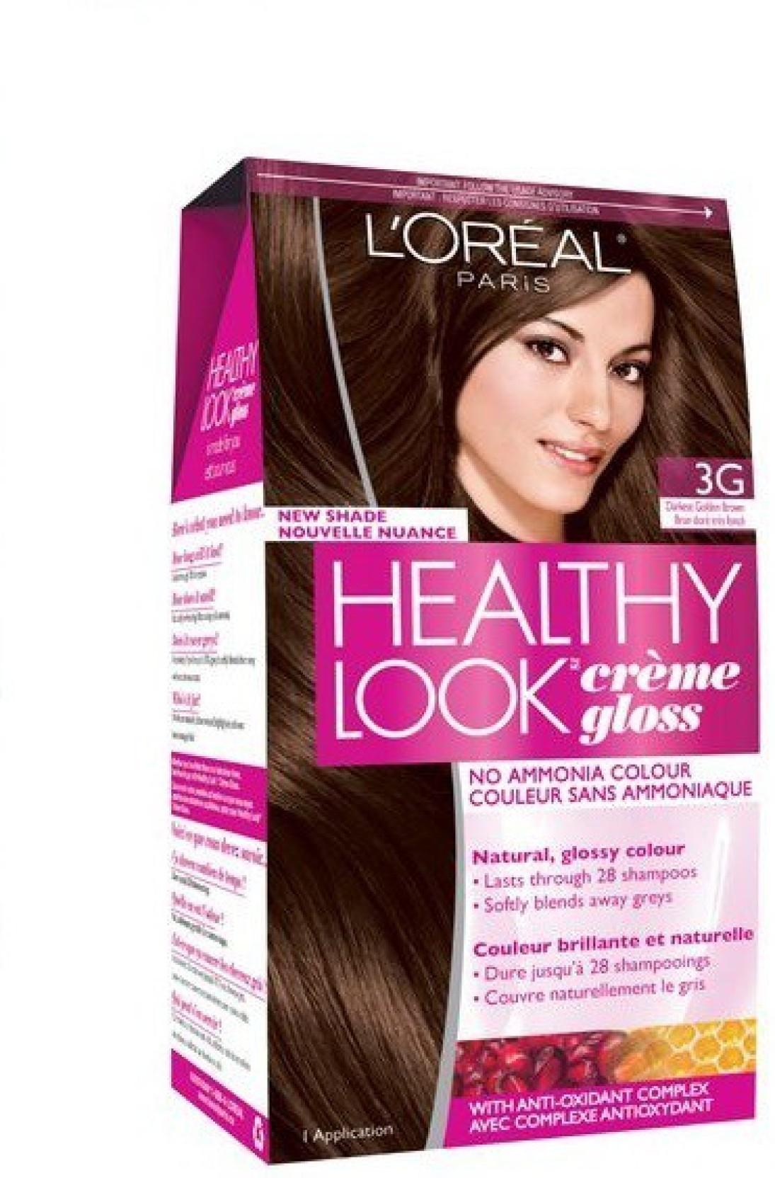 Loreal Paris Healthy Look Creme Gloss No Ammonia Hair Color