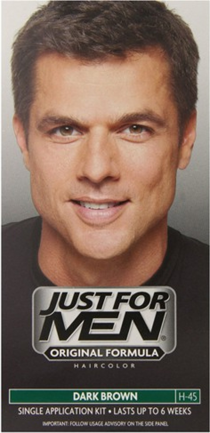 Just For Men Shampoo In Hair Color Dark Brown H 45 Hair Color