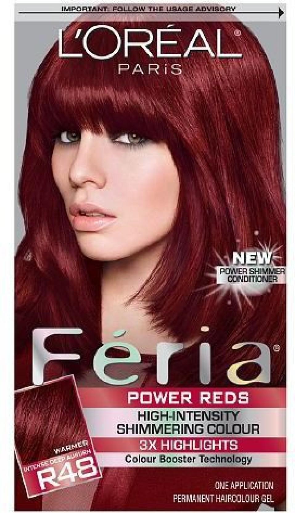 Loreal Paris Paris Feria Power Reds Haircolor Hair Color Price In