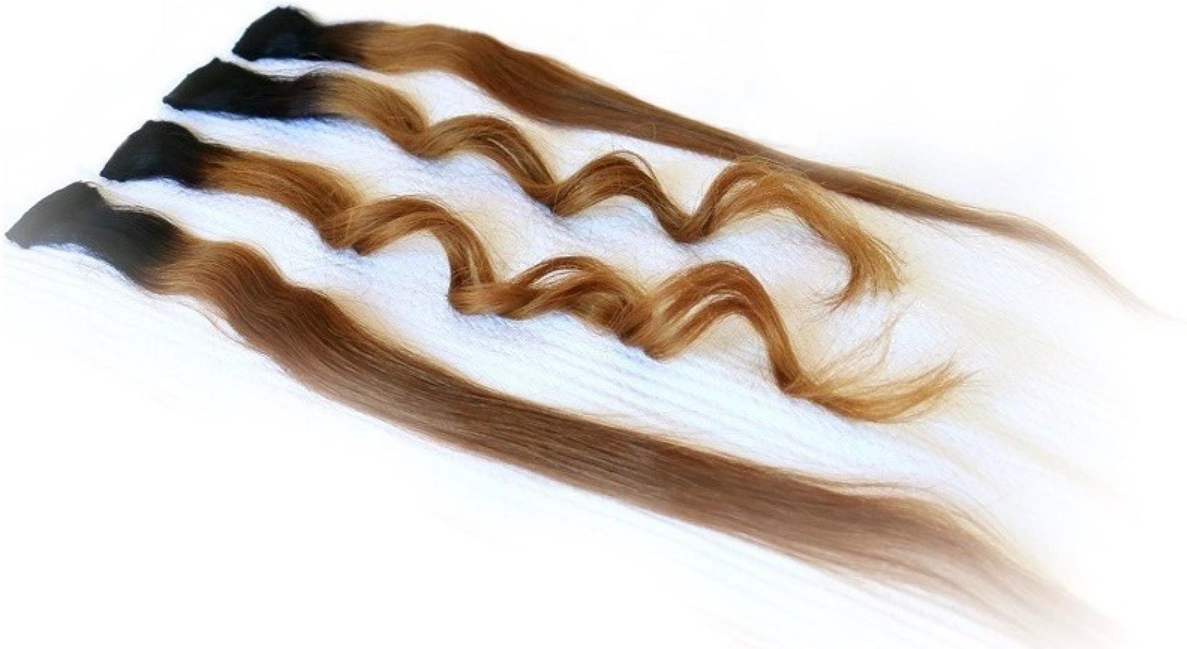 Glamcheck Single Clip Highlights Hair Extension Price In India Buy Gb Stroller Majik Black Share