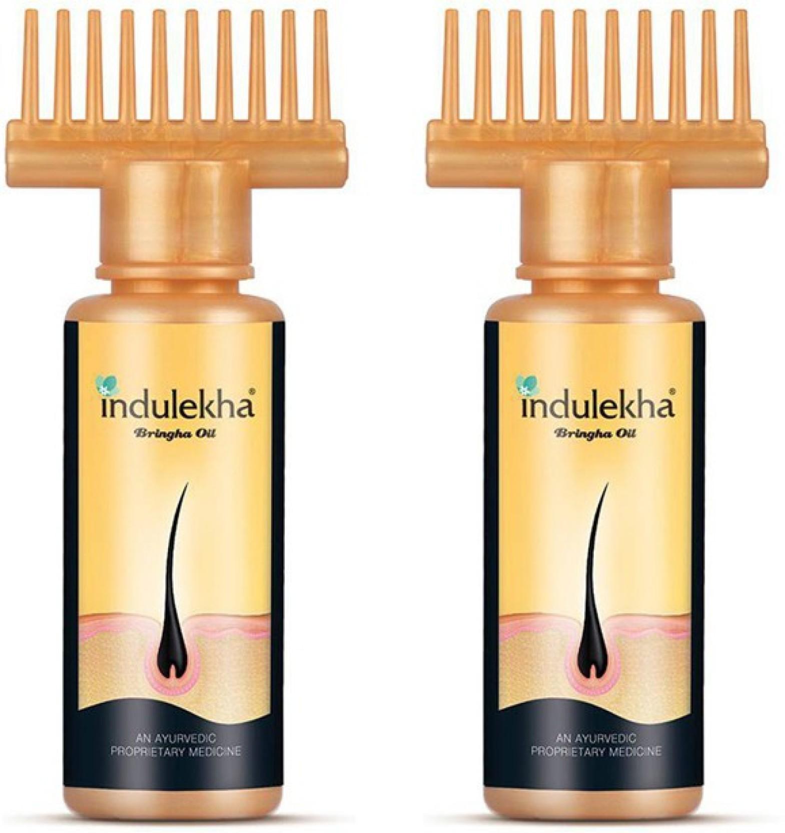 Indulekha Bringha Selfie Bottle Pack Of 2 Hair Oil
