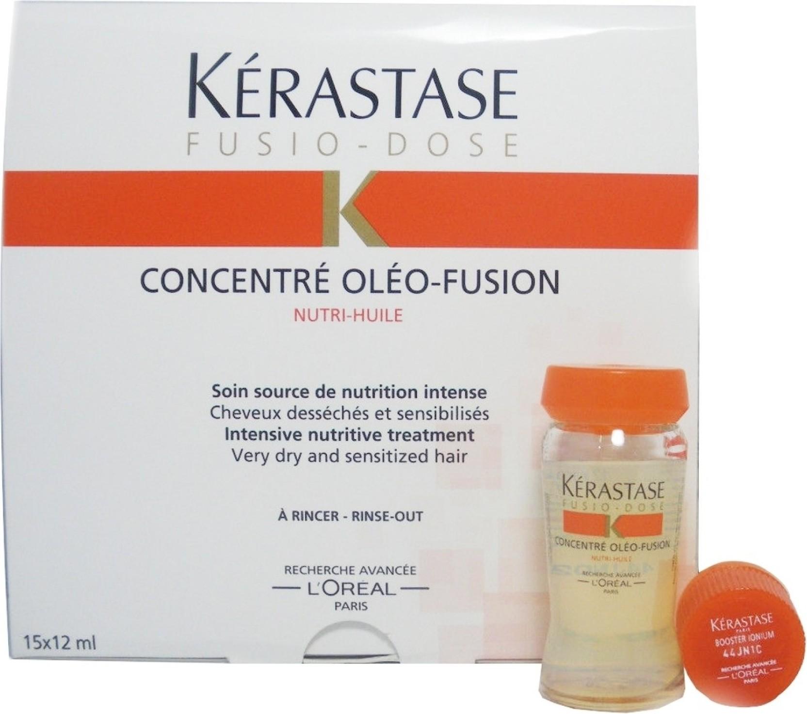 Kerastase fusio dose concentre oleo fusion intensive nutritive treatment price in india buy - Kerastase salon treatment ...