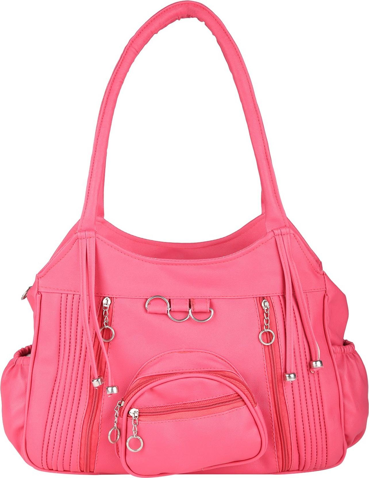 Buy Fairdeals Hand-held Bag Pink Online @ Best Price in ...