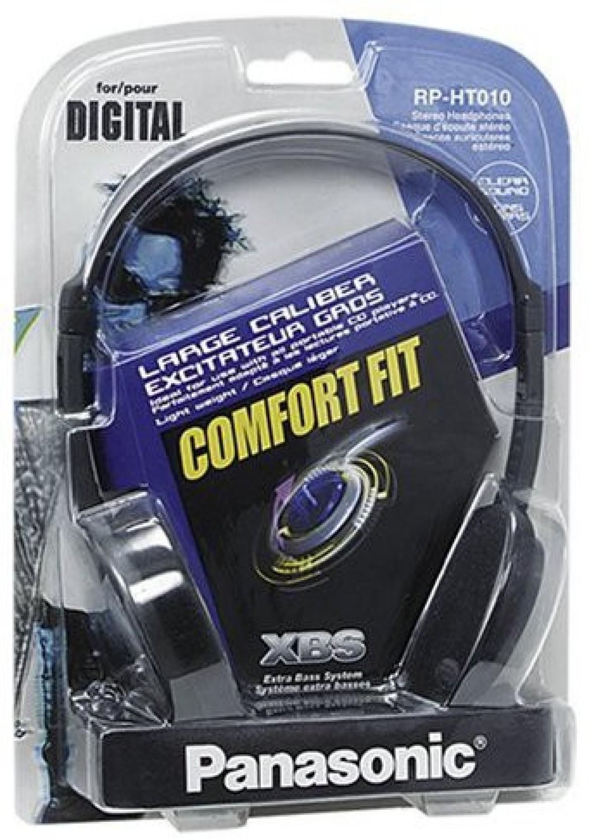 Panasonic Rp-Ht010-H Headphones Comfort Fit Rpht010 /Genuine Headphone. Compare