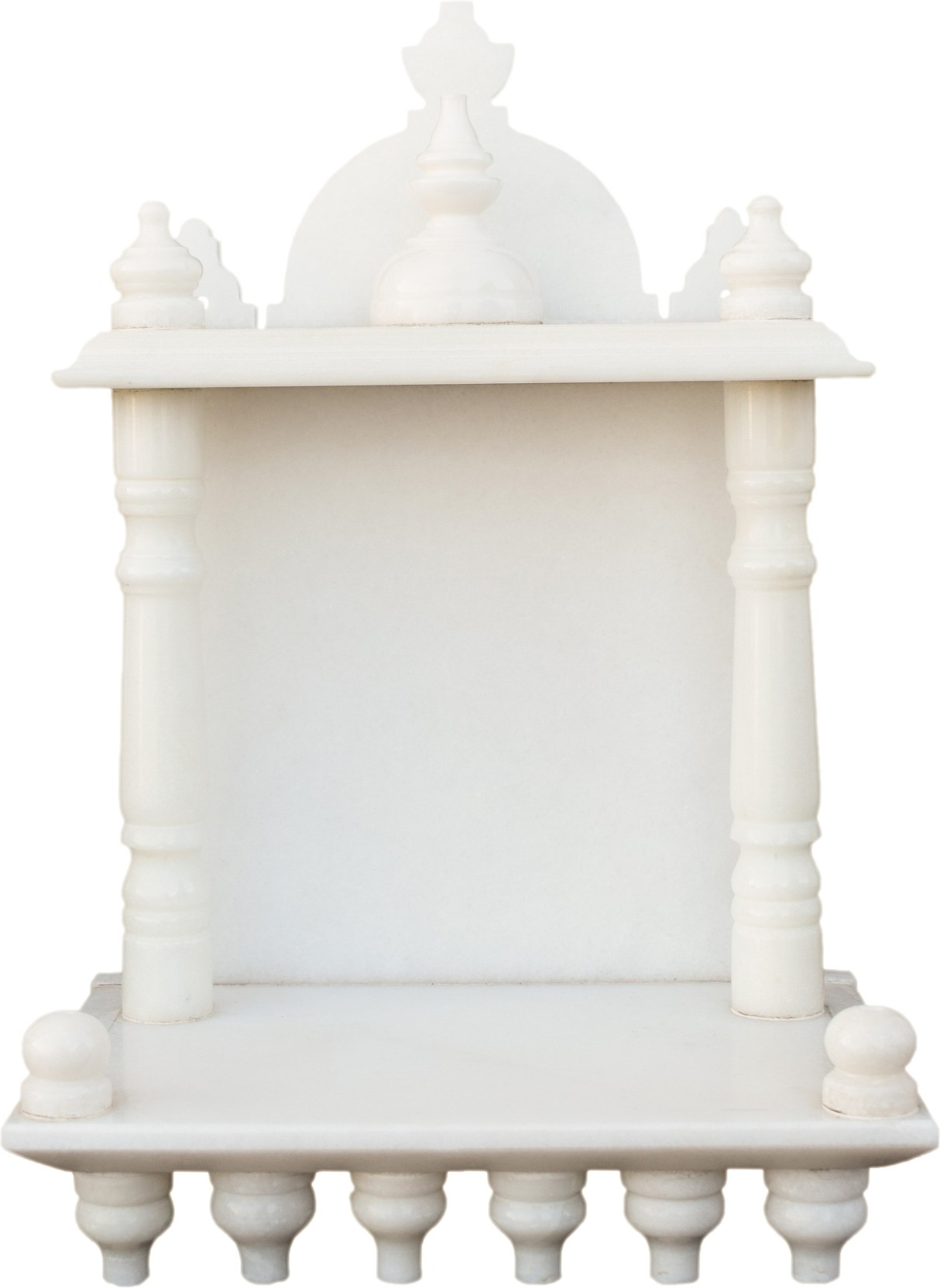 eShilp Home Temple Pooja Mandir small size 13.5 inches Marble Home ...