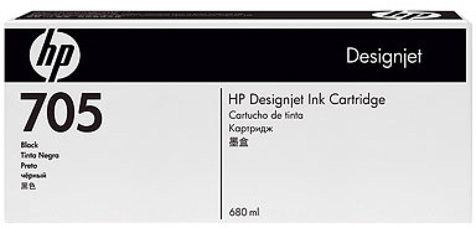 Hp 705 680 Ml Black Ink Cartridge Tinta 45 Original Compare