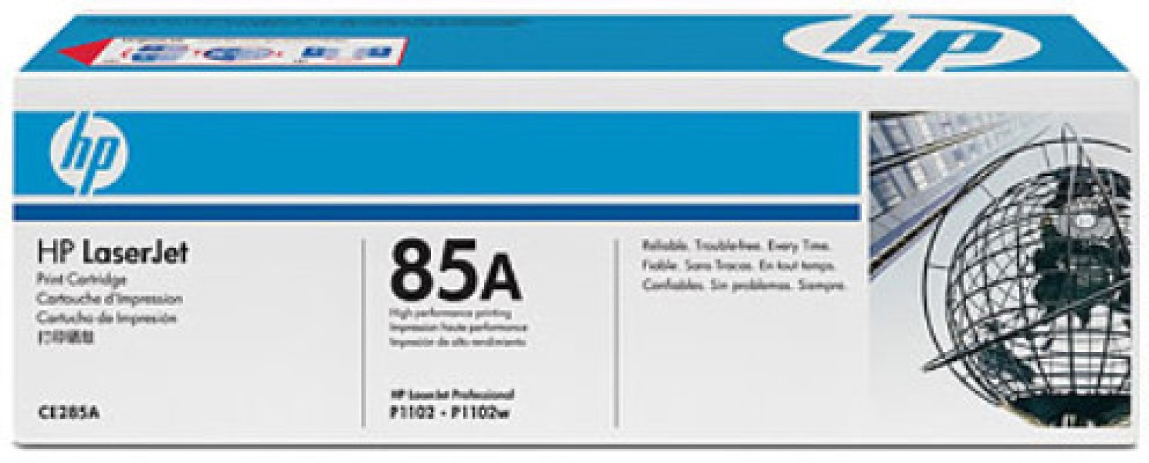 Hp 85a Black Laserjet Toner Cartridge Catridge Compare