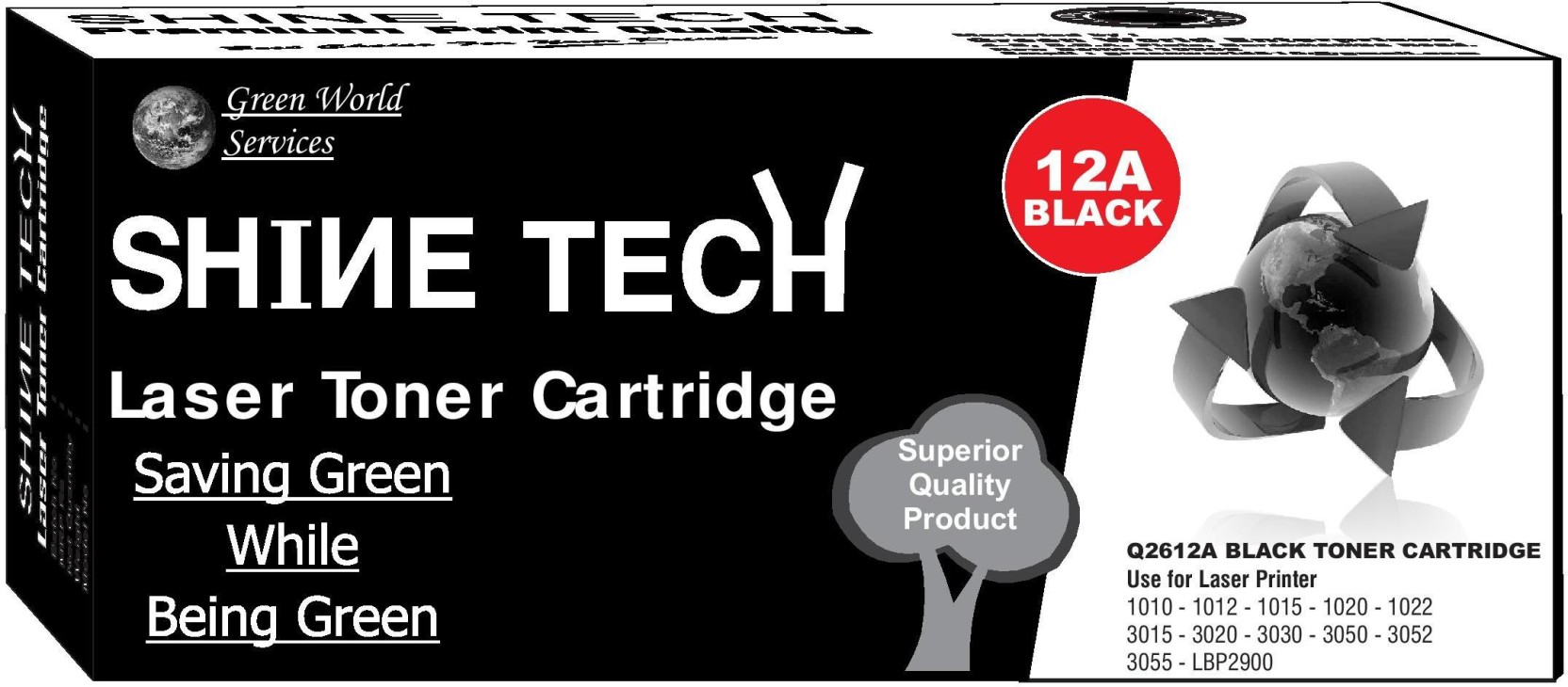 Shine Tech Hp 12a Compatiblehp Laserjet Printers 1010 1012 1015 Toner Cartridge Compatible 1020 Compare