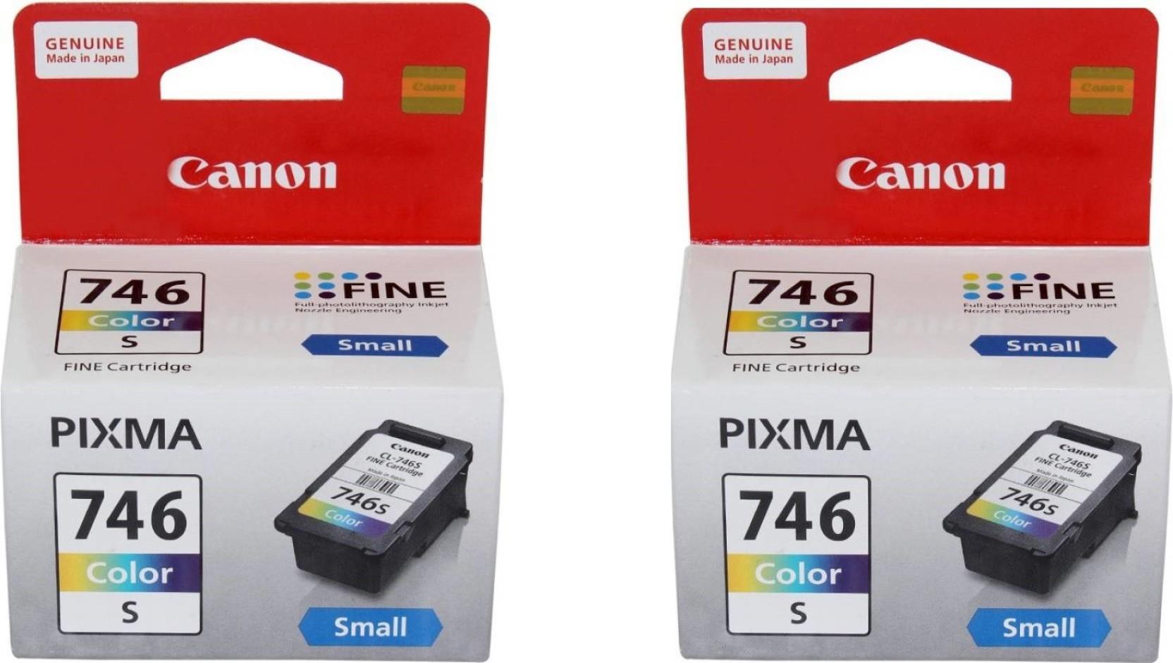 Canon Pixma Multi Color Ink Cartridge Tinta Pg 746 Tricolour Original Compare