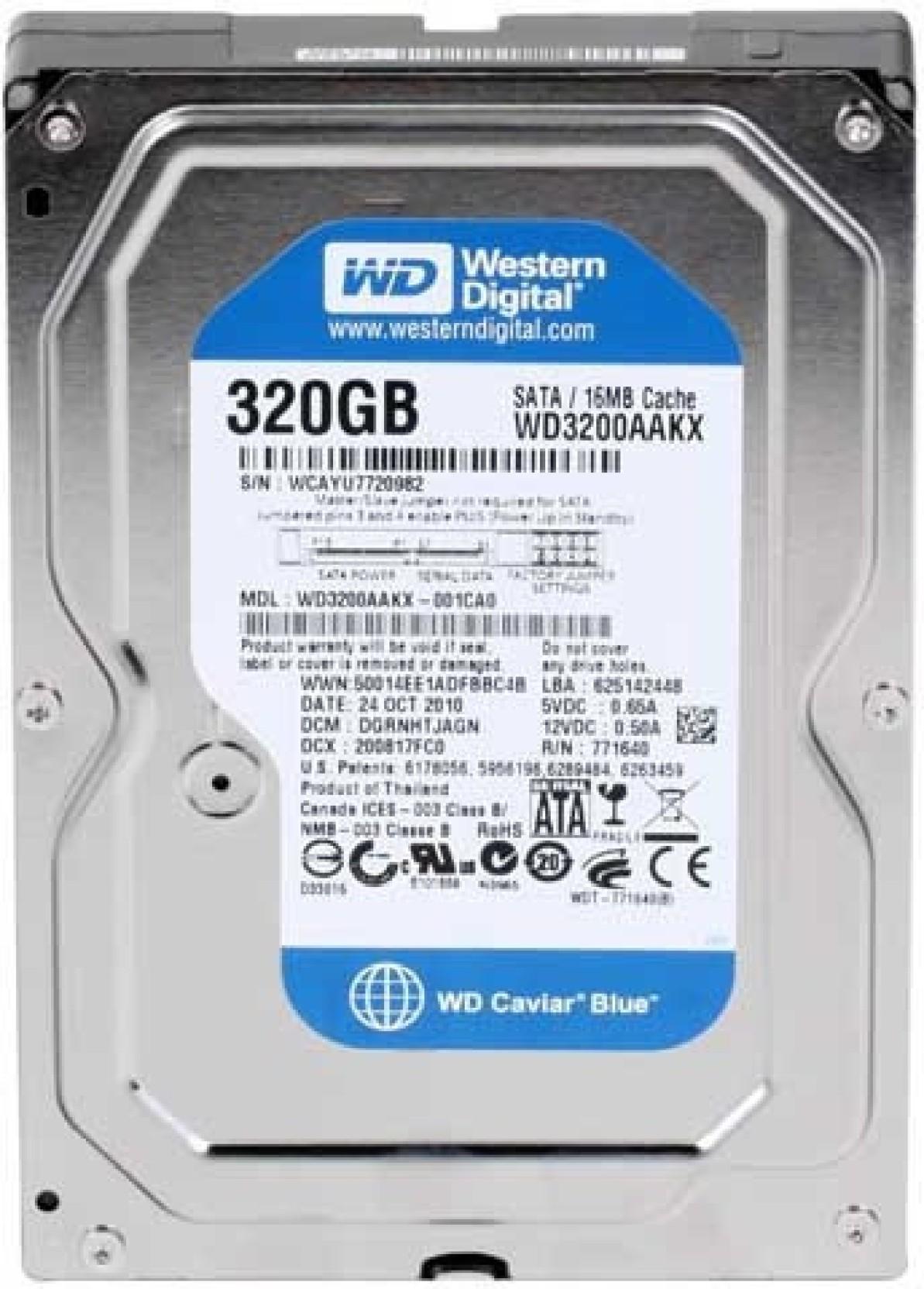 Wd Sata 320 Gb Desktop Internal Hard Disk Drive Wmav2f642882 Hardisk Pc 35 320gb Add To Cart