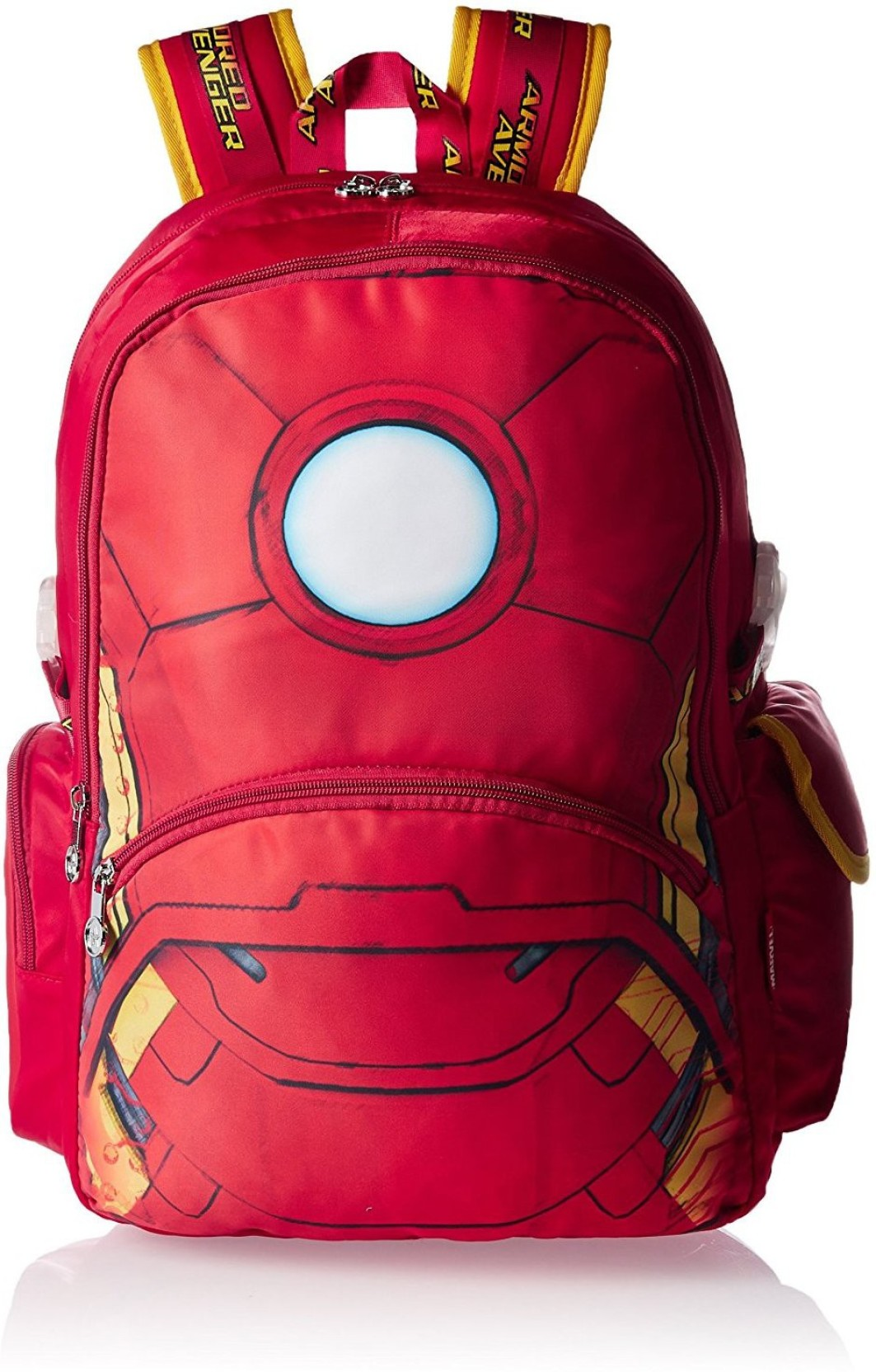 Marvel Iron Man Red School Bag 19 inch Backpack (Red d7b34c366af2f