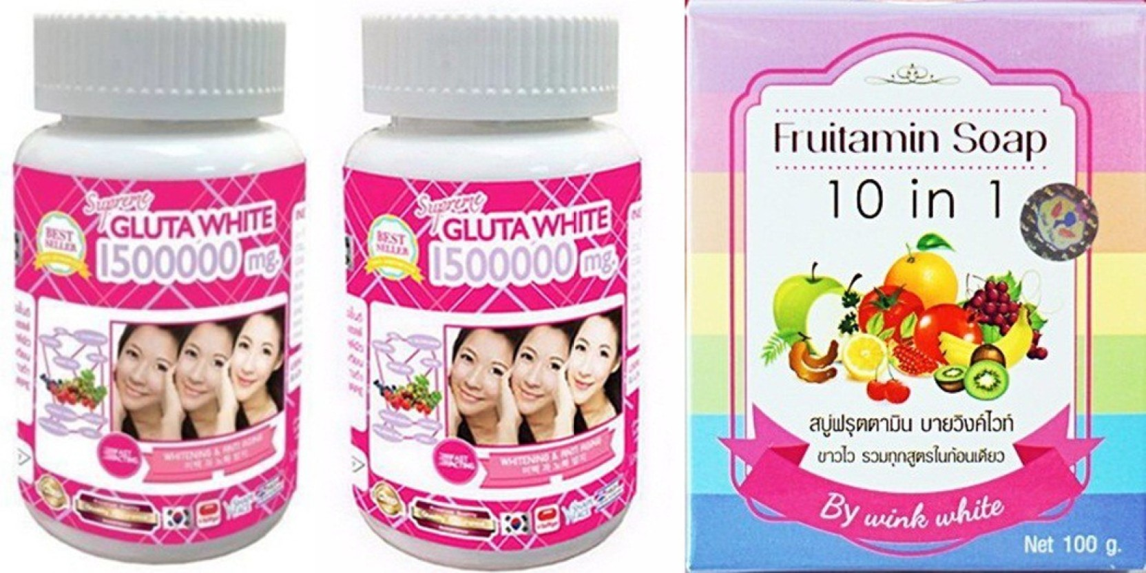 Daftar Harga Fruitamin Soap 10 In 1 By Wink White Update 2018 Fujifilm X A3 Kit 16 50mm F35 56 Ois Ii Brown Xa3 Cokelat Muda Gluta 2 Bottles Supreme 1500000 Mg Grape Seed Extract
