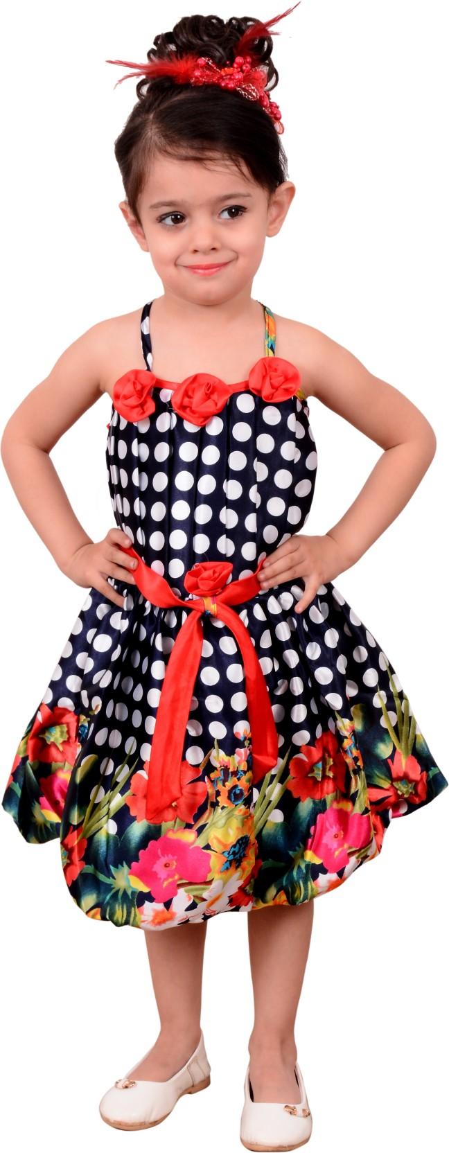 2387e10f2e9 BEBO 21 Girls Midi Knee Length Party Dress Price in India - Buy BEBO ...