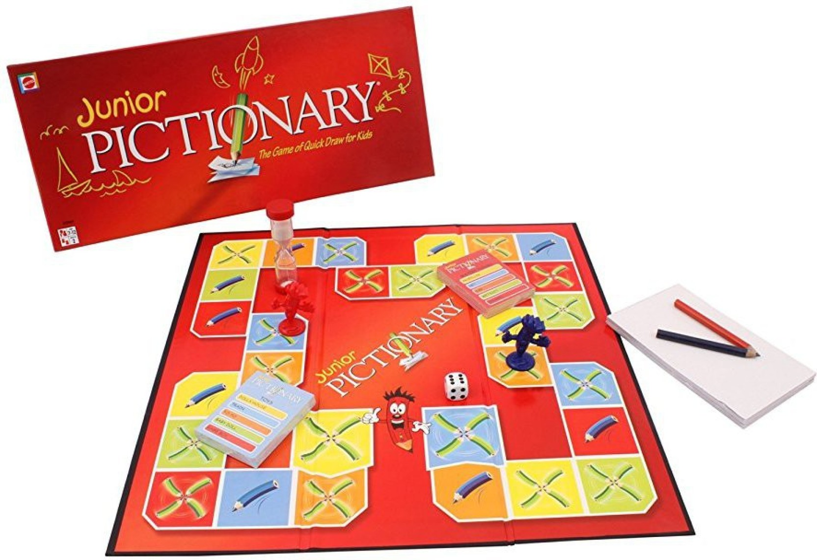 Mattel Games Pictionary Junior Board Game - Pictionary ...
