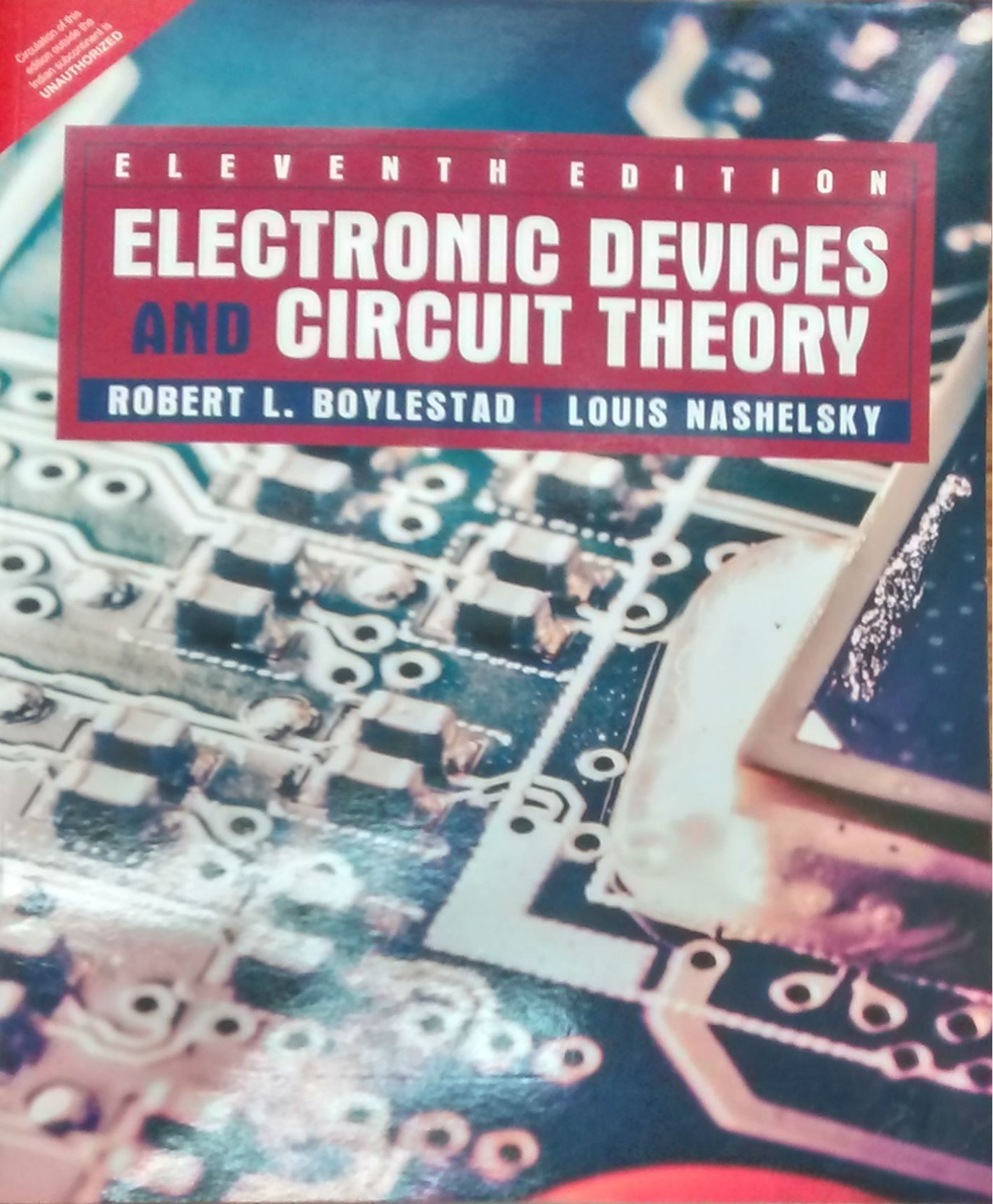 Electronic Devices And Circuit Theory 11th Edition Buy Design Pdf Add To Cart