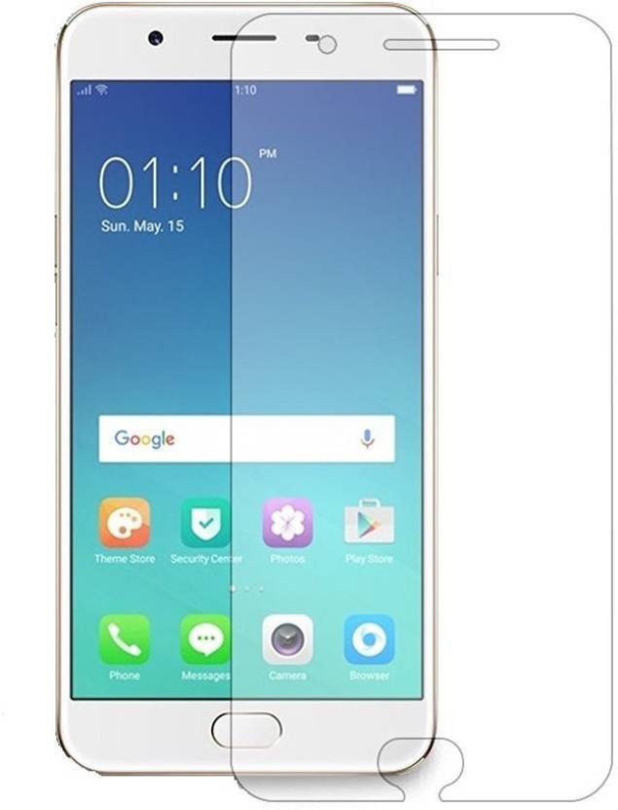 Avecra Tempered Glass Guard For Oppo F1s Full Layar On Offer