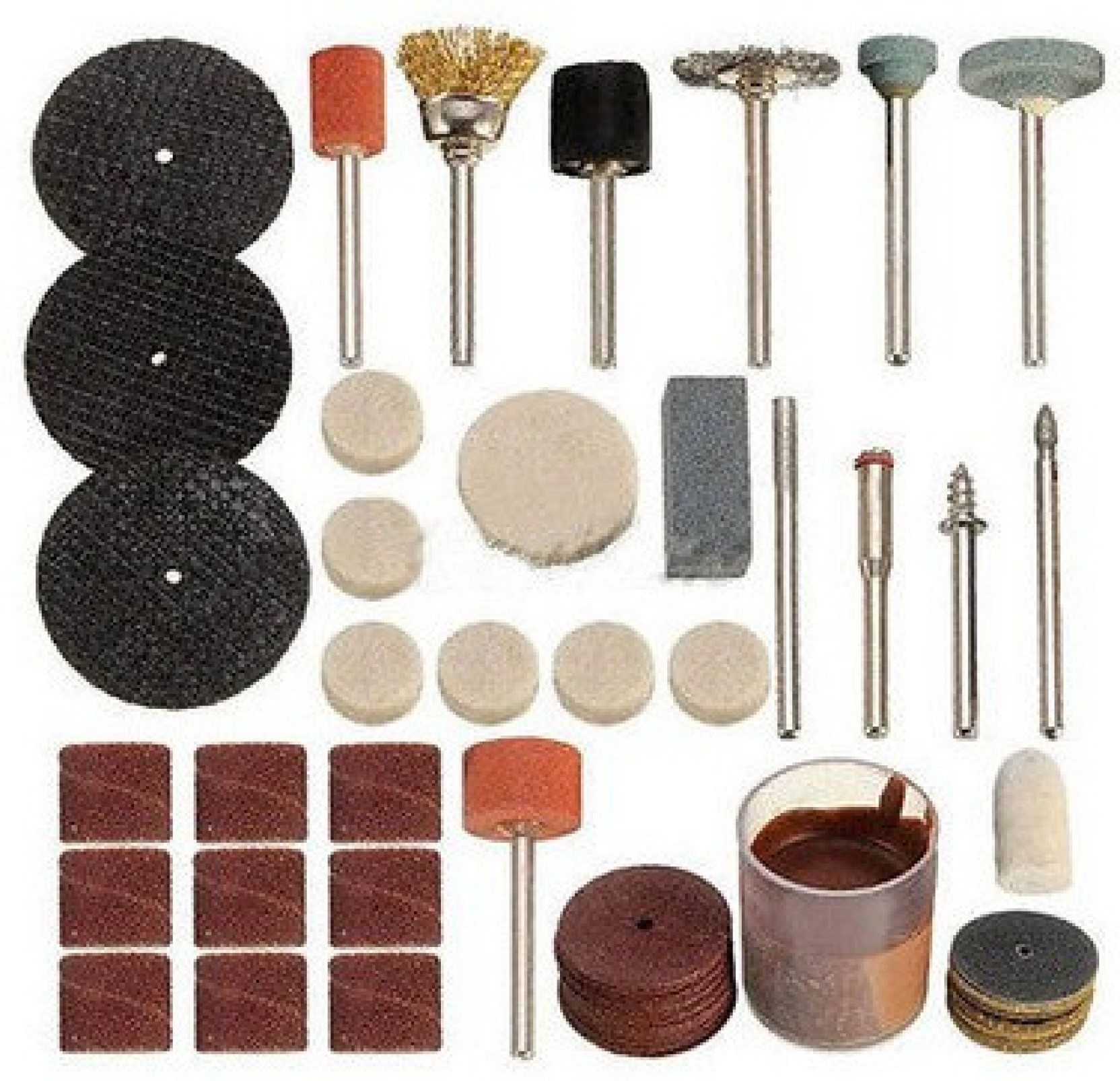 Diy Crafts Rotary Tool Accessory Set Fit Dremel 105 Xgrinding Acessories 150pcs Best Quality Add To Cart