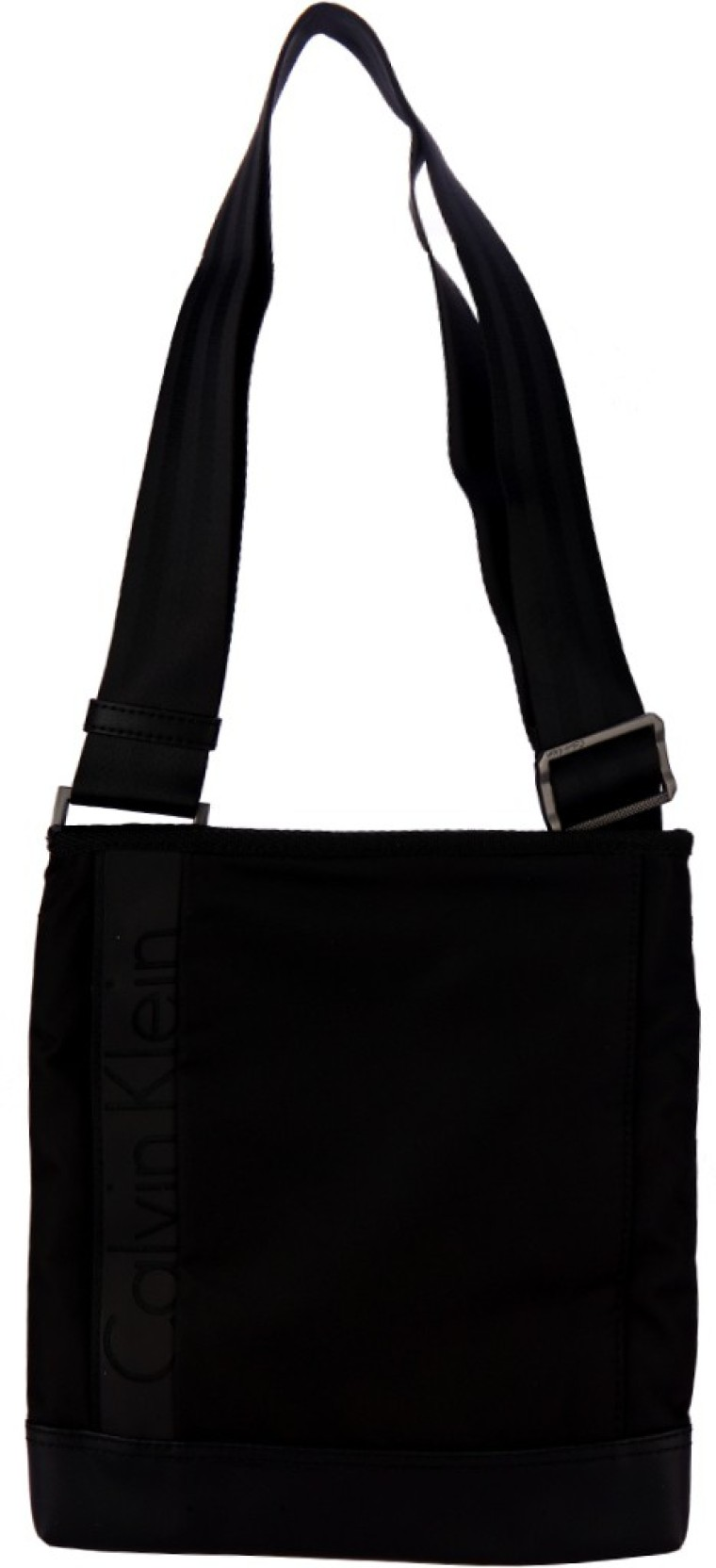 b43e18d18ecc5 Calvin Klein Men Casual Black Nylon Sling Bag Black - Price in India ...