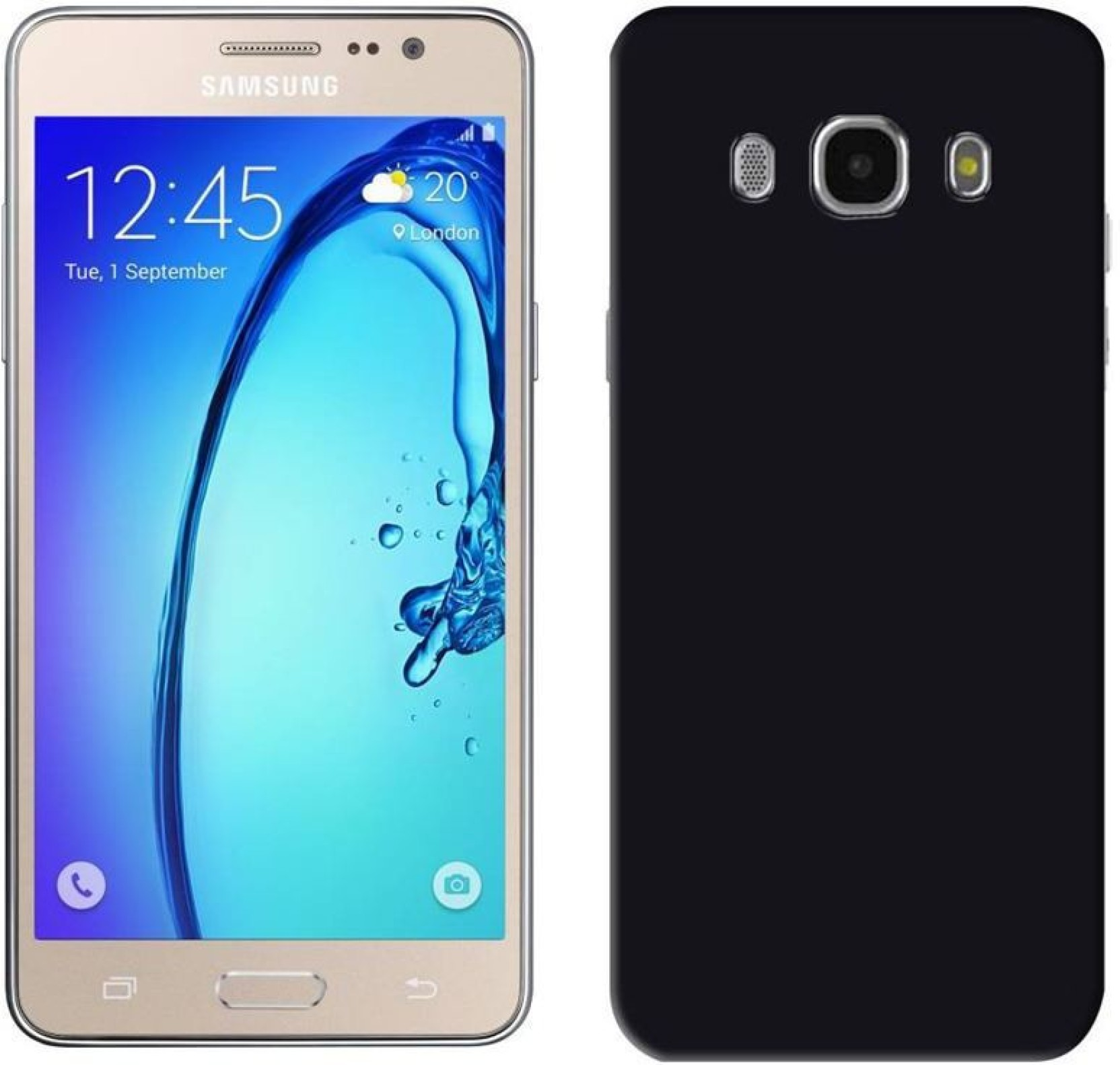 buy online 44f15 f5091 Flipkart SmartBuy Back Cover for Samsung On5 Pro