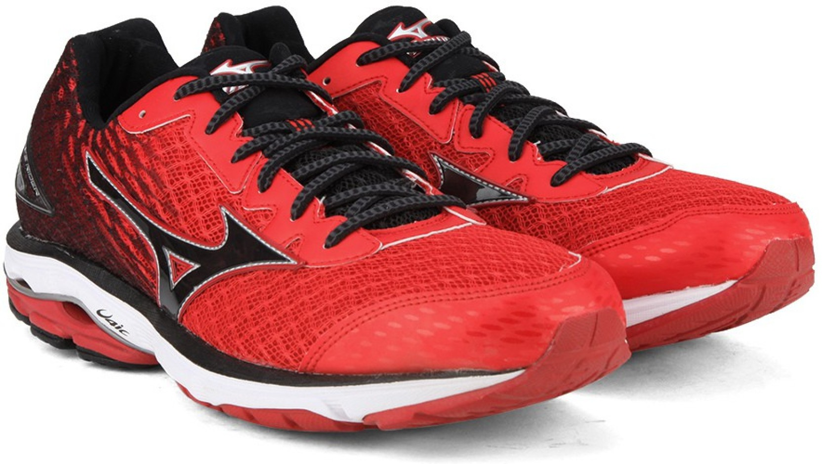 075aef955c98 Mizuno WAVE RIDER 19 Running Shoes For Men - Buy Chinese Red / Black ...