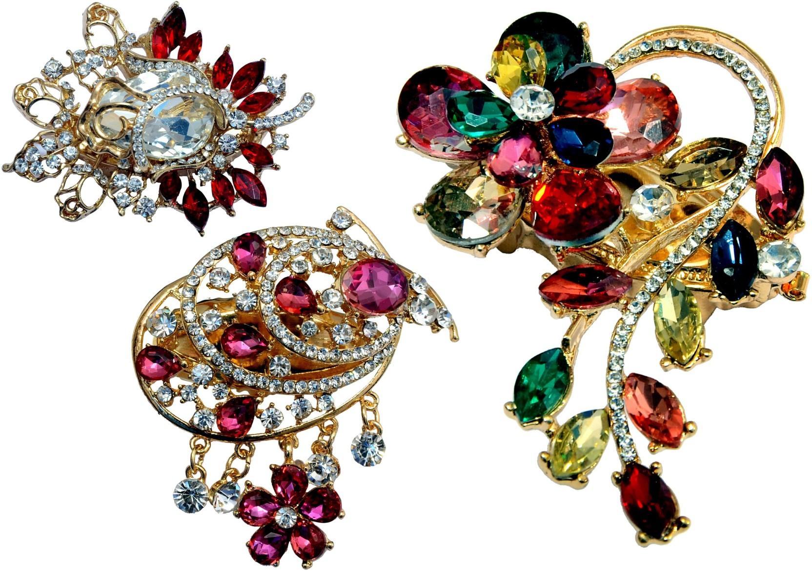 fb6a778957534 Mansiyaorange Designer Latest Fancy Combo Of Sari Pin/Saree Pin ...