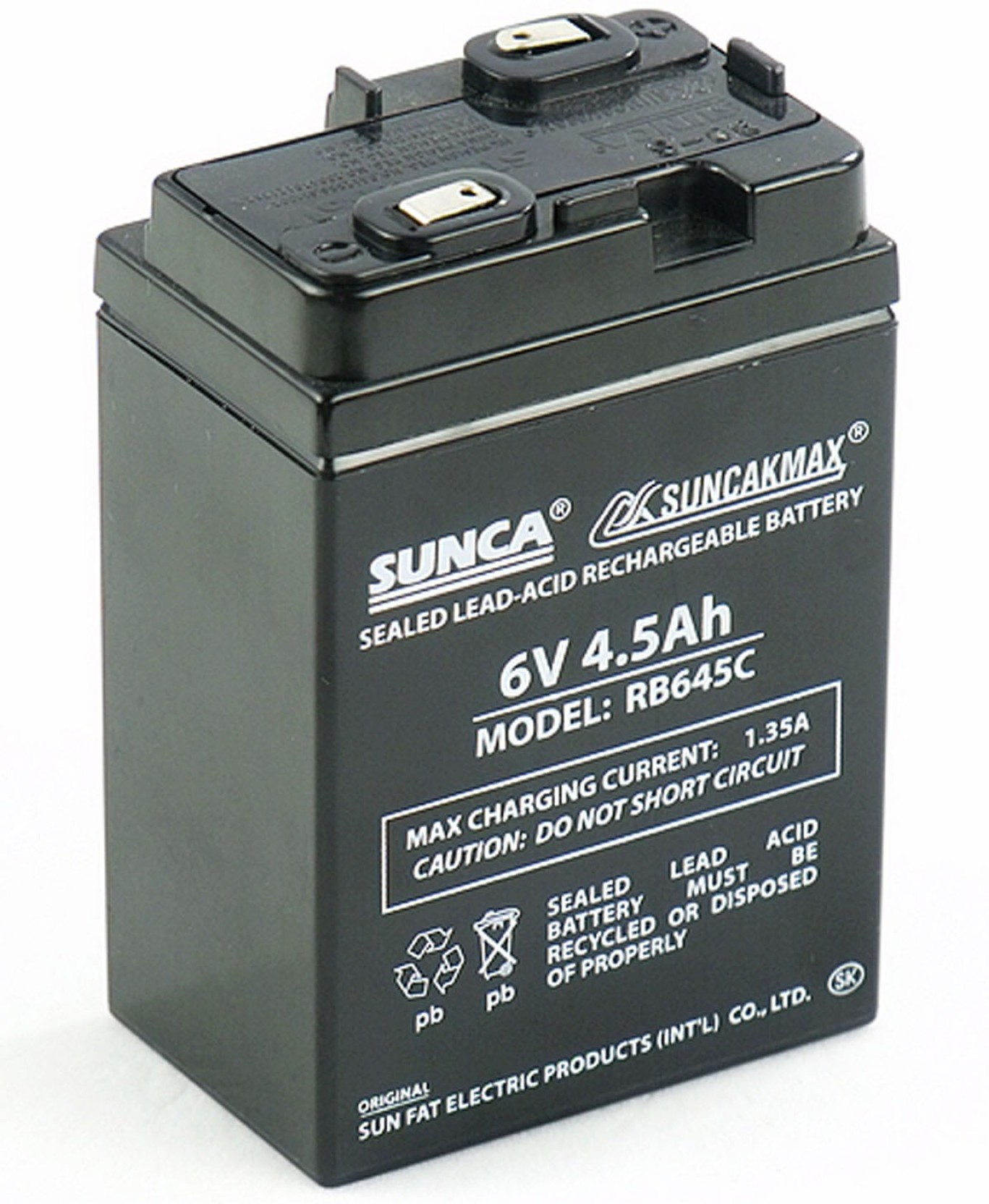 Sunca 6volts 45ah Rechargeable Battery Lead Acid Sealed Charger Circuit Home