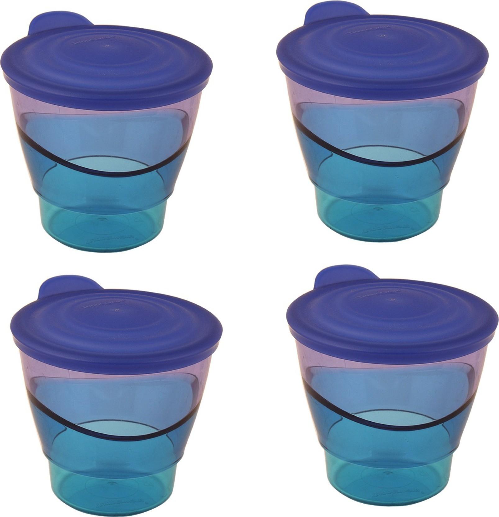 Tupperware Eleznga Tumbler - 290 ml, 290 ml, 290 ml, 290 ml Plastic ...