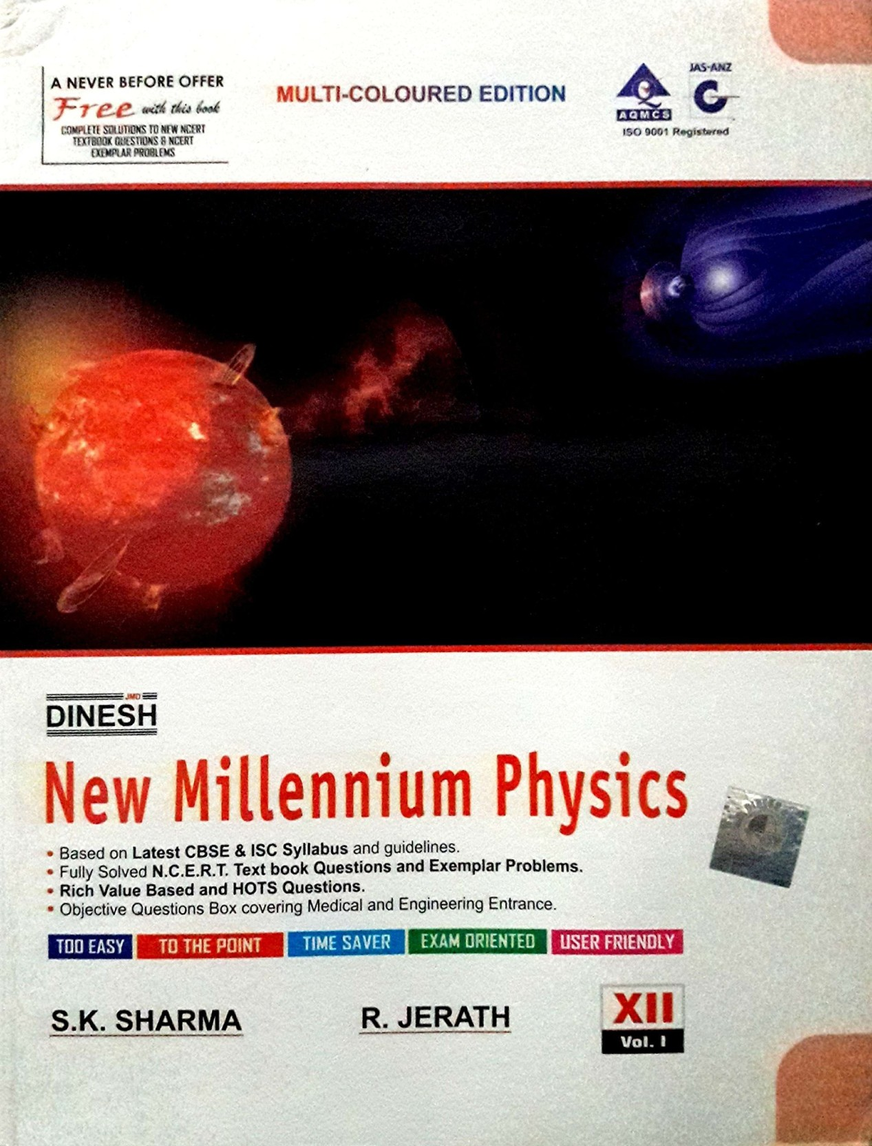 Dinesh New Millennium Physics Class 12th Vol  I & II: Buy