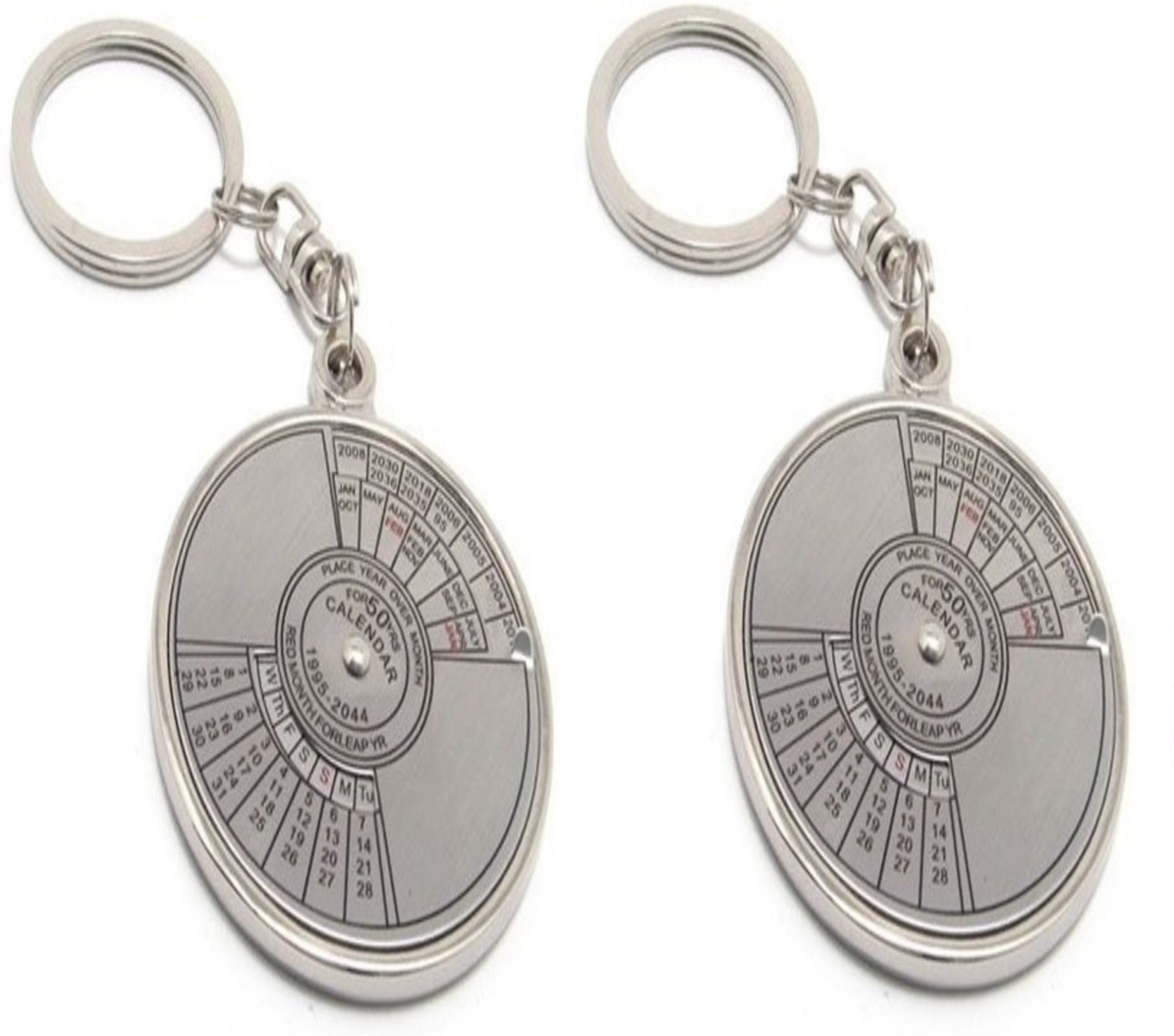 Ncc Ncc359 Set Of 2 Date Perpetual With Calendar Up To 50 Years Key