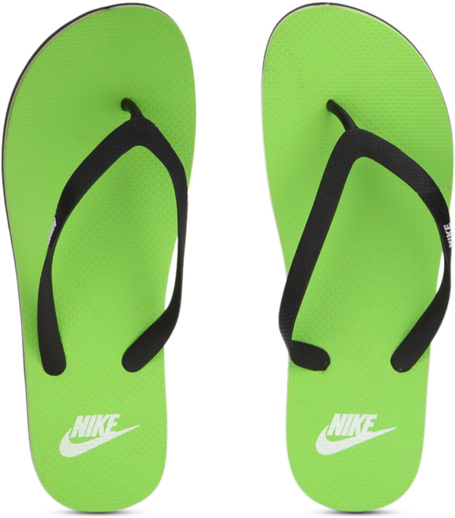 eb723093241 Nike AQUASWIFT THONG Flip Flops - Buy BLACK WHITE-ELECTRIC GREEN Color Nike  AQUASWIFT THONG Flip Flops Online at Best Price - Shop Online for Footwears  in ...