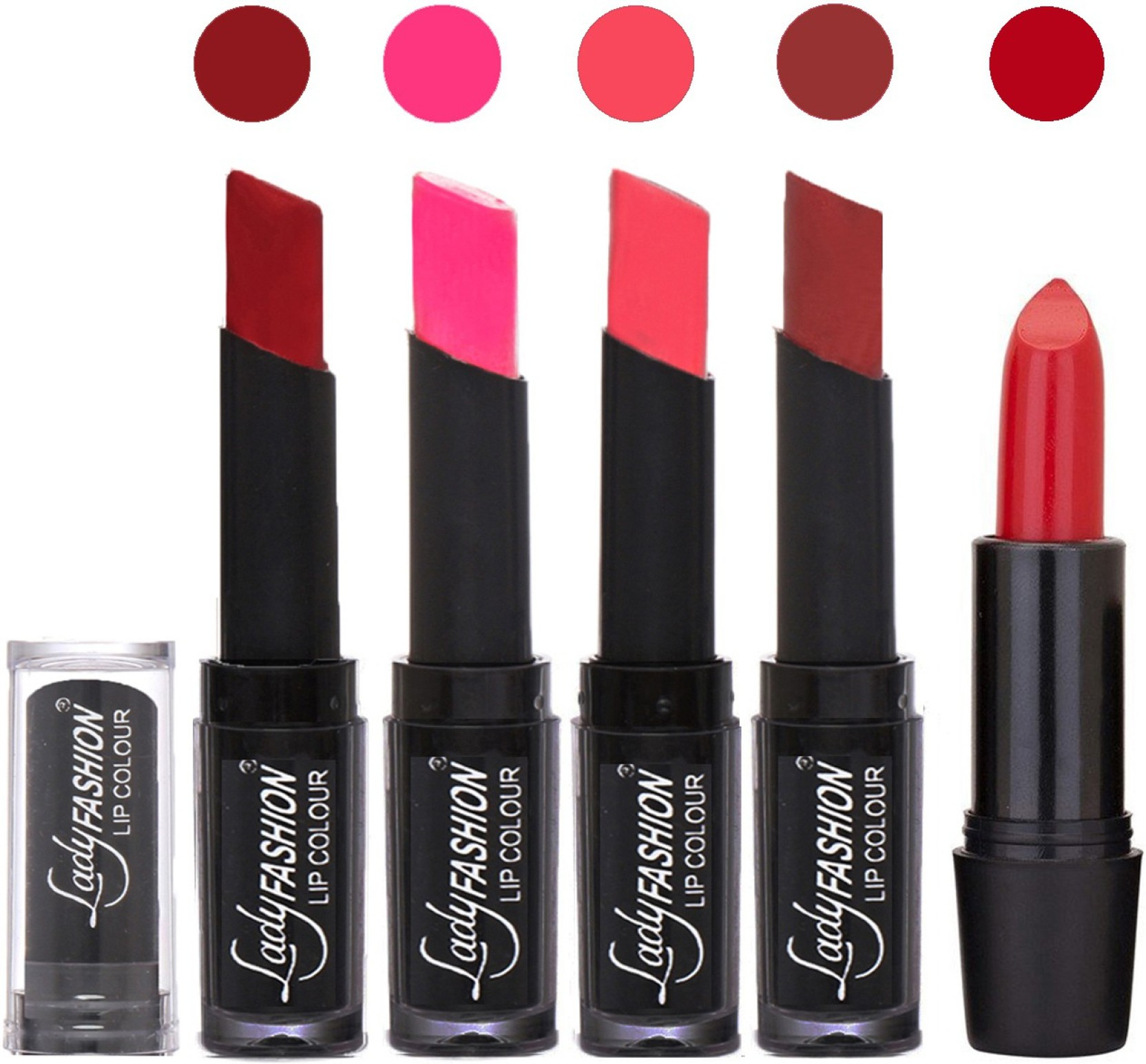 Lady Fashion Lipstick Beauty Makeup Women Professional Lip Colors Baby Lipstik On Offer