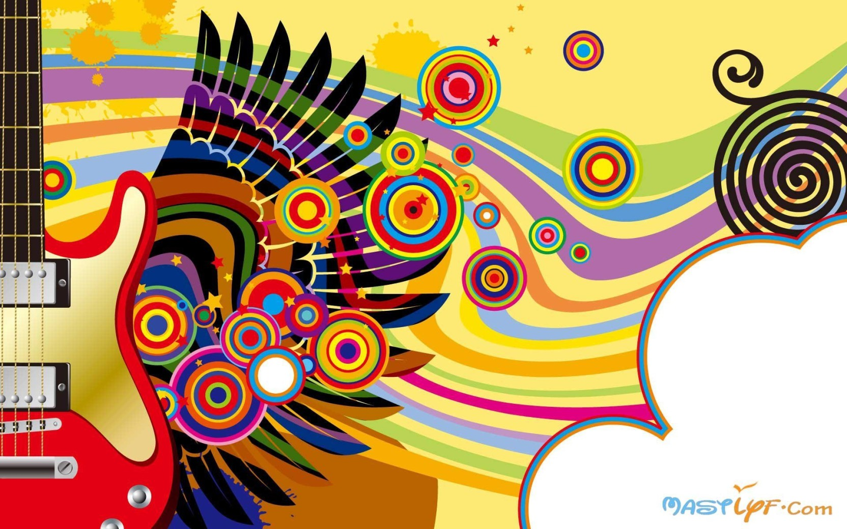 AnanyaDesignsmusics-mastlyf-iz- Wall Poster Paper Print - Music ...