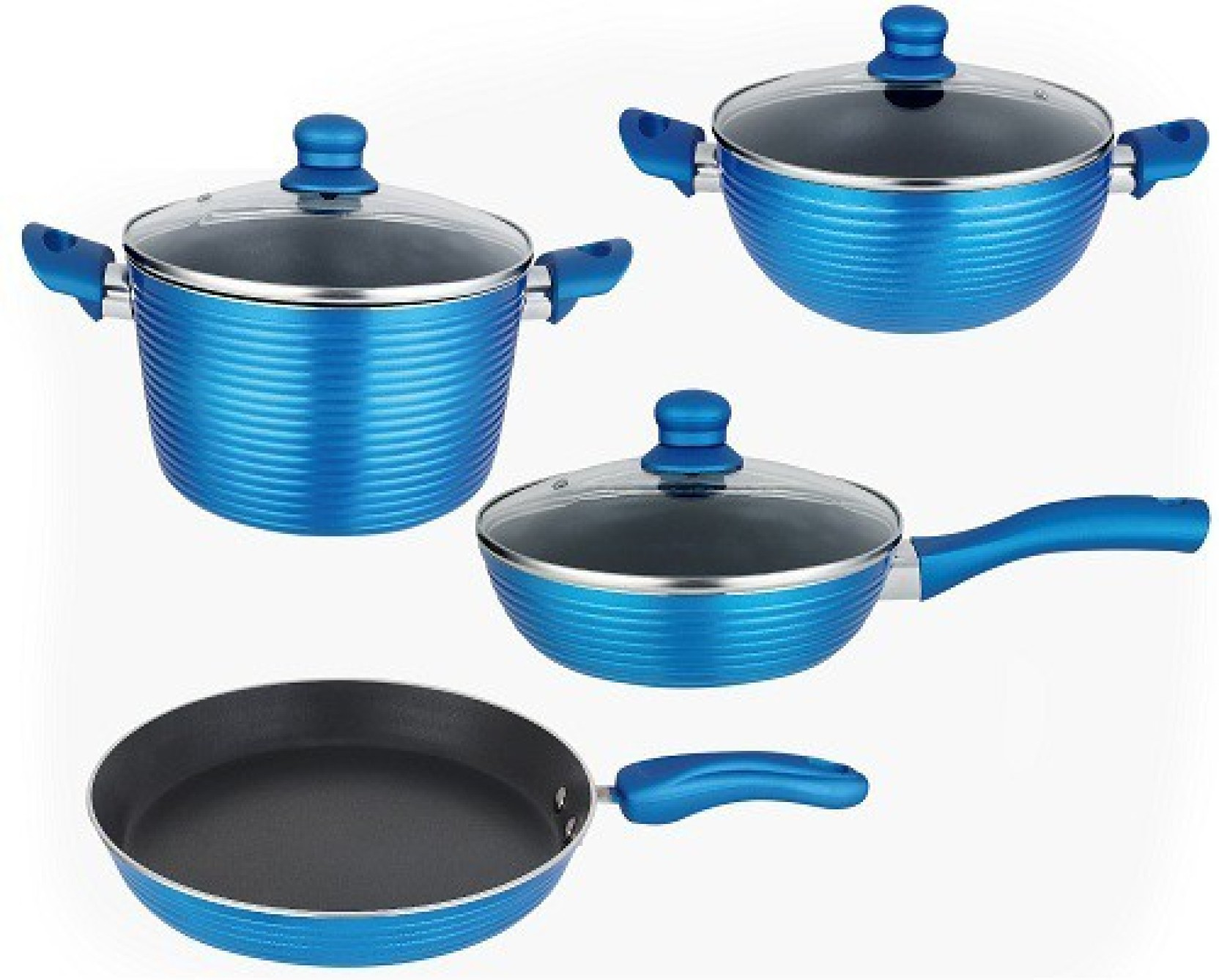 NIRLON Forged Pots & Pans Set Tawa 28 cm diameter Price in India ...