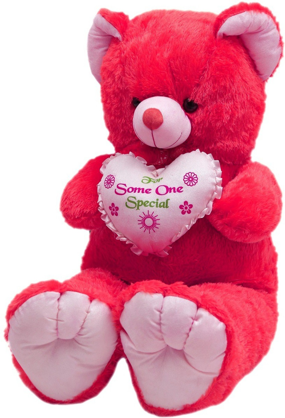 Toynjoy 5 Feet Cute Soft Cuddly Beautiful Carrot Colored Teddy Cuddle Me Pajamas Red The Angry Birds Movie Home