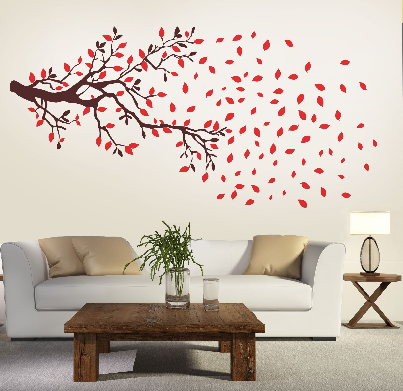 New Way Decals Wall Sticker Floral & Botanical Wallpaper ...