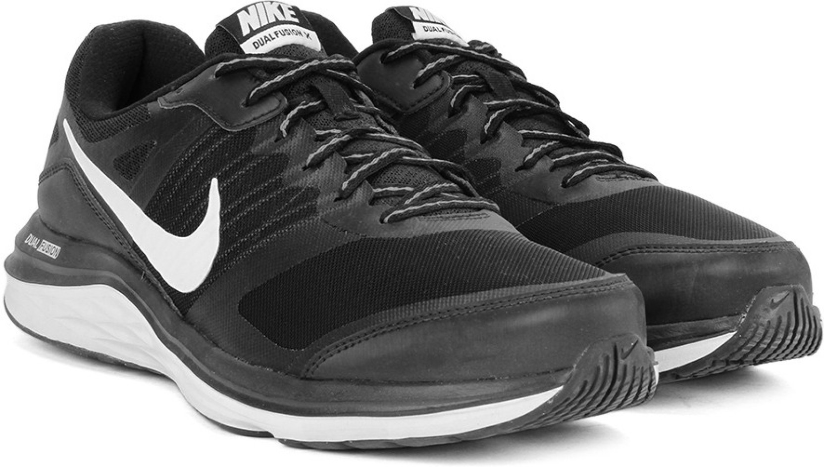 e37075811a499 Nike DUAL FUSION X MSL Running Shoes For Men - Buy BLACK WHITE-COOL ...