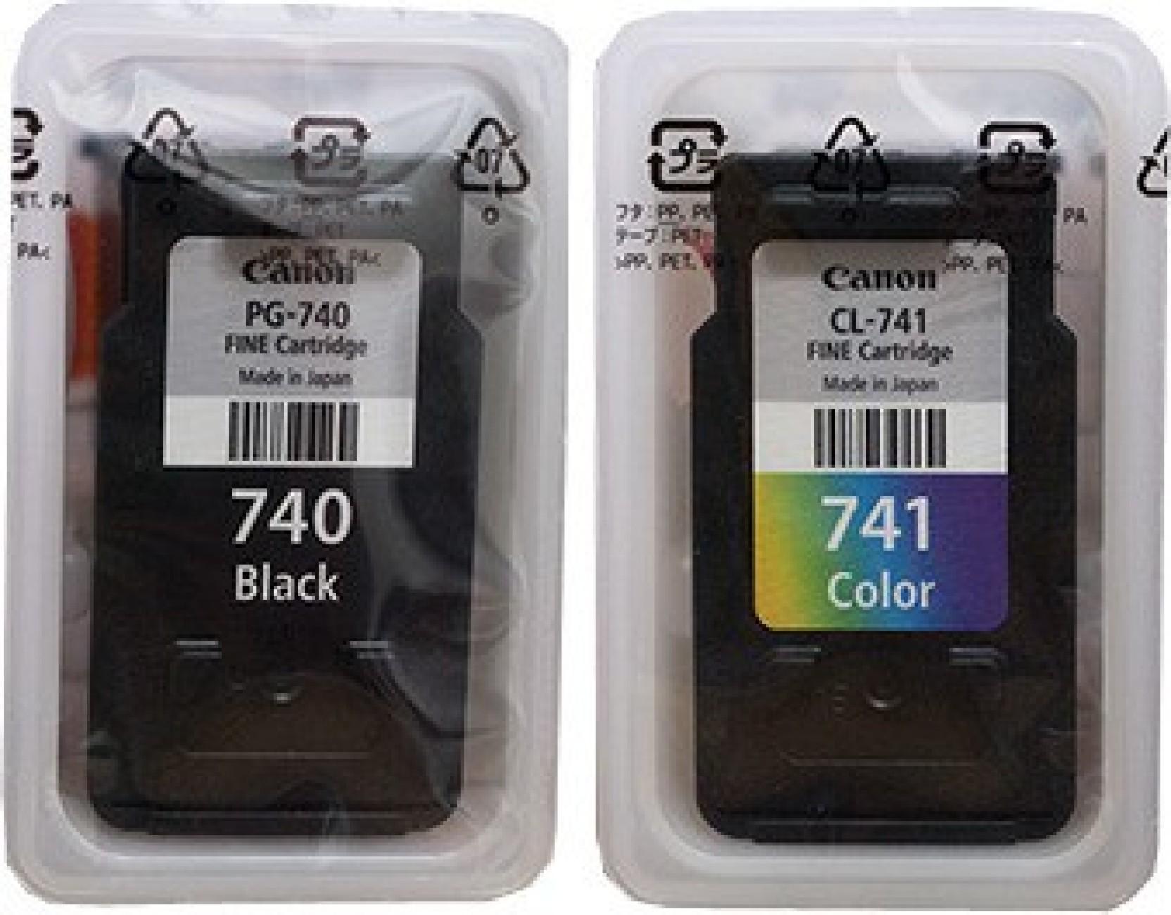 Tinta Canon Pg 741 Tricolour Original Daftar Harga Terbaru Dan 746 740 Both Black Tri Color Cartridge