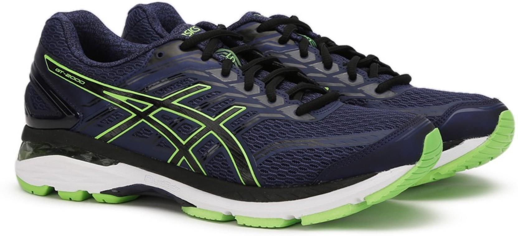 1f5b04f2eae6 Asics Running Shoe For Men - Buy INDIGO BLUE BLACK GREEN GECKO Color ...