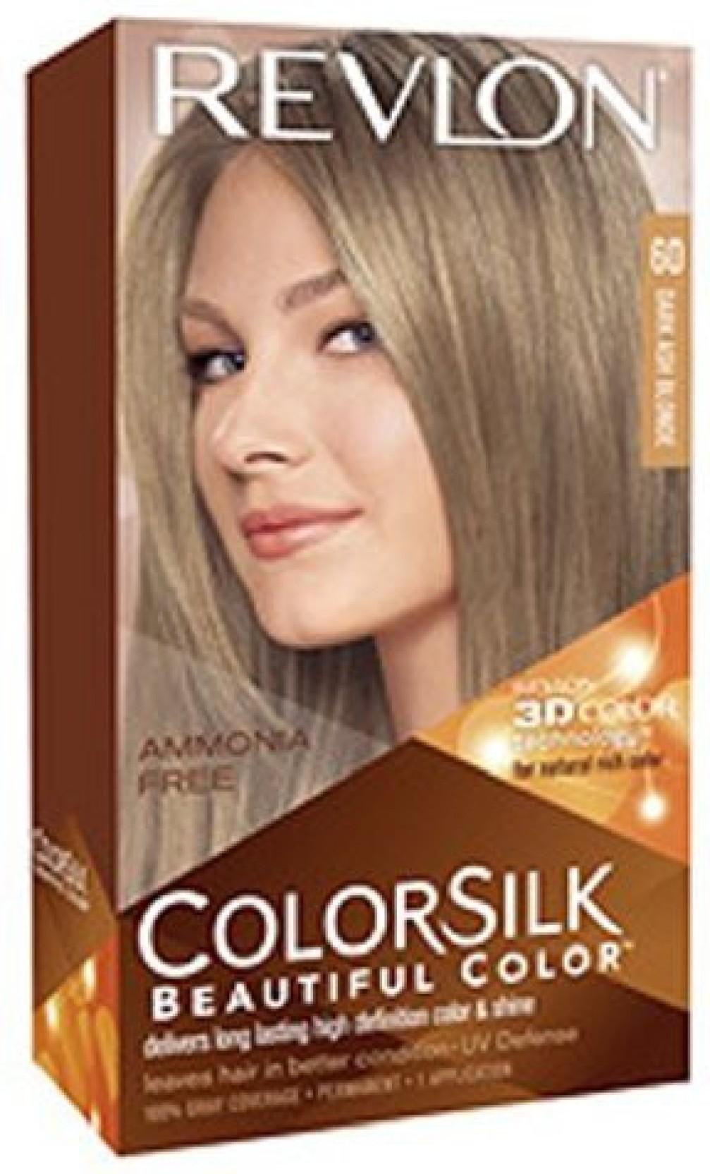 Revlon Colorsilk Beautiful Color Dark Ash Blonde Hair Color Price