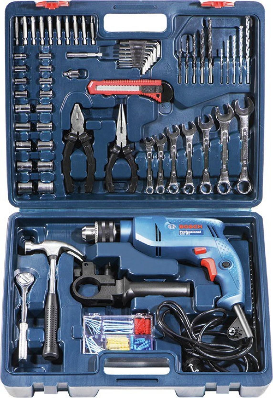 Bosch GSB 550 - Mechanic Power Tool Kit Price in India ...