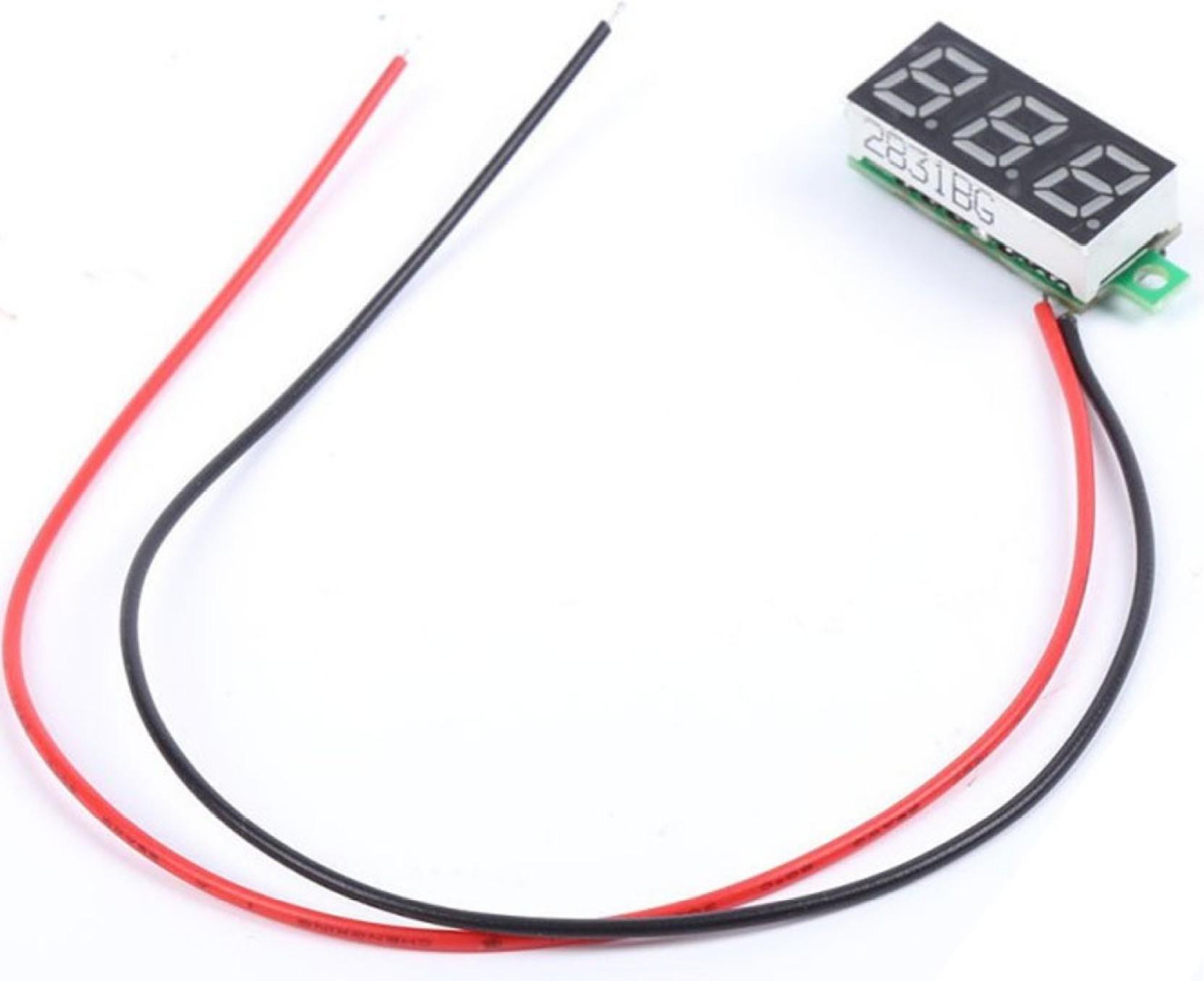 Singtronics Dc 0 30v 2 Wire Led Display Digital Diy Voltage 70 260v Ac To 180 350v Converter Add Cart