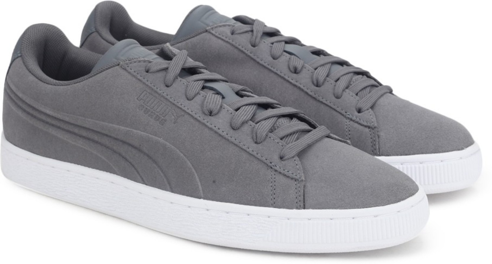 8840cd8d5774 Puma Suede Classic Embossed Sneakers For Men - Buy QUIET SHADE Color ...